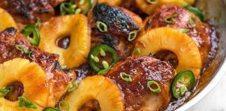poulet-ananas-cookeo-recette
